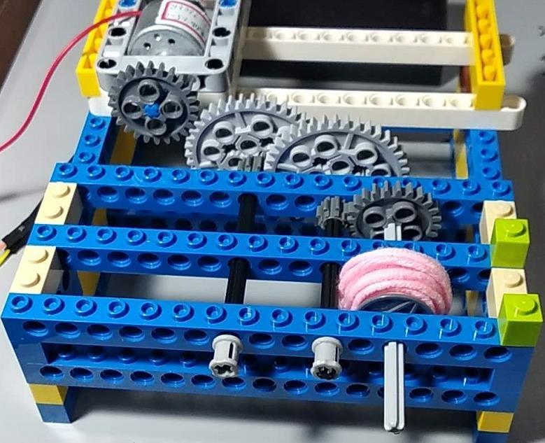 310电机驱动乐高齿轮组