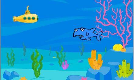 潜水艇打鲨鱼—-Scratch课堂笔记一