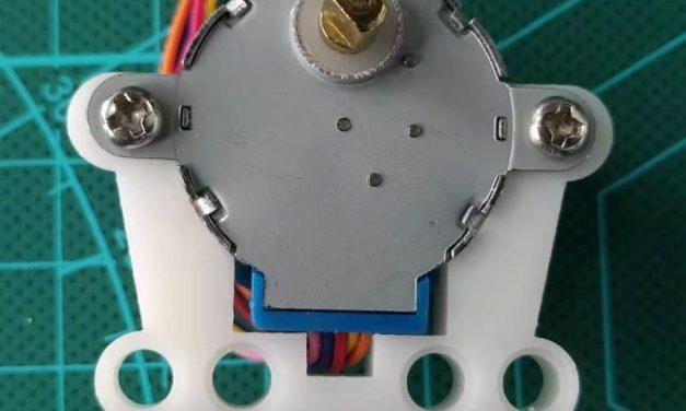 WayDo.xyz 5V步进电机基座(兼容乐高)安装技巧